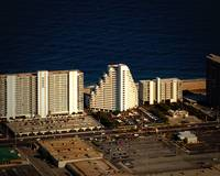 Pyramid Condominium Aerial Photo in Ocean City Md