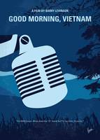 No811 My Good Morning Vietnam minimal movie poster