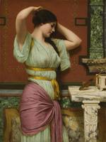 John William Godward, R.B.A. 1861-1922   JULIA