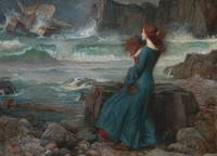 Miranda - The Tempest by John William Waterhouse,