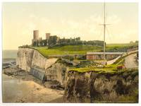 Vintage Photo-Print of Kingsgate Castle (1900)