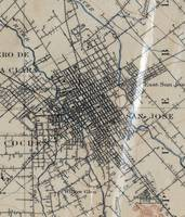 Vintage Map of San Jose California (1895)