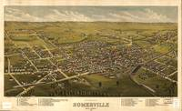 Vintage Pictorial Map of Somerville NJ (1882)
