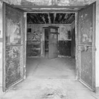 Double Doors, Fort Worden Art Prints & Posters by Betty Sederquist