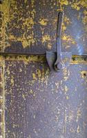 Lichen Encrusted Metal Door, Fort Worden