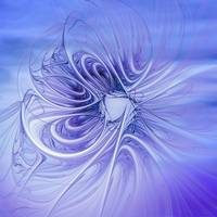 blue elegant flames -1-
