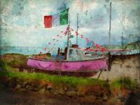 Pink Irish Boat