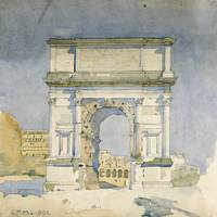 Rome, Arch of Titus by Charles Rennie Mackintosh