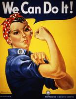 Rosie Riveter Shows Her Muscles