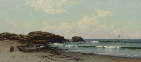 coast by Alfred Thompson Bricher