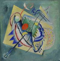 Red Oval by Vassily Kandinsky