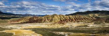 Painted Hills Panorama in Oregon by Cody York_1365