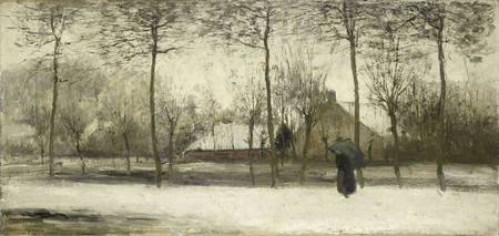 Winterlandschap, Willem Maris, c. 1875
