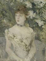Young Girl in a Ball Gown by Berthe Morisot