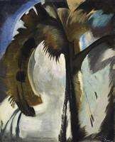 Yellow, Blue, and Violet by Arthur Garfield Dove