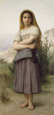 Young Girl, by William-Adolphe Bouguereau