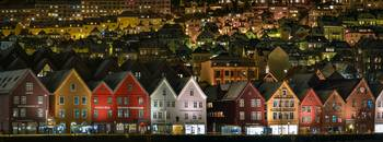 The iconic architecture of Bergen's Bryggen