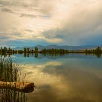 Boulder County Colorado Calm Before The Storm Art Prints & Posters by James
