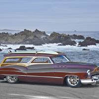 1950 Buick Woody Wagon I Art Prints & Posters by Dave Koontz