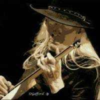 Johnny Winter Art Prints & Posters by Dave Gafford