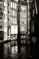 Rhythms of Amsterdam. Black and White