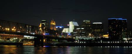 Cincy Skyline @ Night