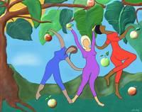 DANCE IN THE GARDEN OF EDEN by Rita Whaley