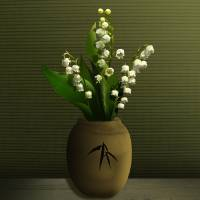 Lily of the Valley in Vase by I.M. Spadecaller