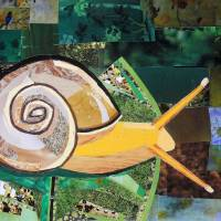 A Snail's Life Art Prints & Posters by Megan Coyle