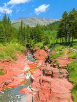 Red Rock Canyon - Waterton Lakes National Park