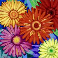 Cheerful Gerberas