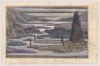 A Landscape, possibly a stage set design , Herbert