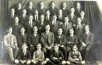 J.A. Hunt in Ipswich Grammar School house group -