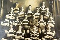 Ipswich Grammar School Football team - 1917