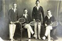 Ipswich Grammar School Tennis team - circa 1918