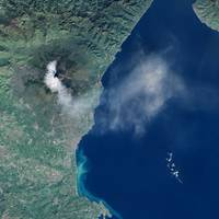 Mount Etna Erupts, NASA