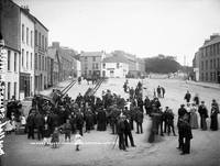 Market Square, Moville, Co. Donegal