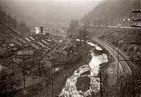 October 1935. The coal mining center of Kimball, W