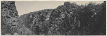 Panorama of Blue Mountains scenery at Leura, 1903