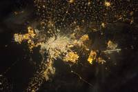 Cairo at Night, NASA