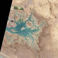 Musa Bay, Iran, NASA