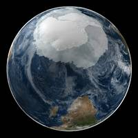 South Pole by Nasa
