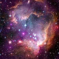 Taken Under the Wing of the Small Magellanic Cloud