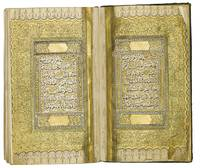 An illuminated Qu'ran, copied by Muhammad Rasim al