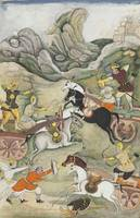 Bilal Habshi,  Razmnama, The Battle of Dhristadyum