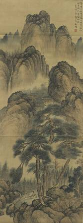 Attributed to Wen Zhengming LANDSCAPE