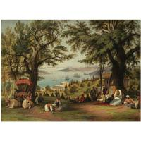 Circle of Hubert Sattler PANORAMIC VIEW OF CONSTAN