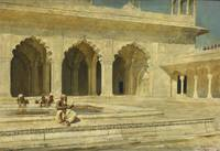 Edwin Lord Weeks 1849 - 1903   THE PEARL MOSQUE, A