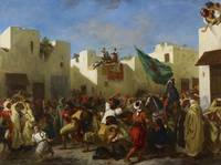 Fanatics of Tangier by Eugène Delacroix
