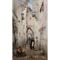 GUILLAUME-CHARLES BRUN ; STREET IN CONSTANTINE
